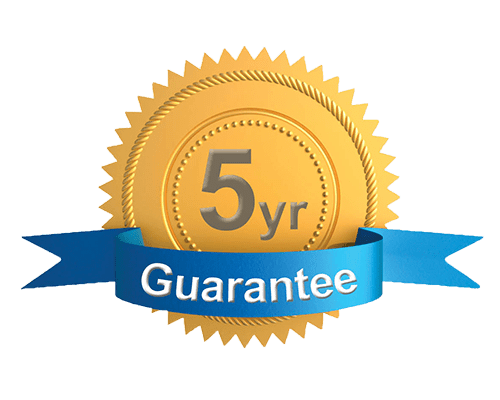 5-year-guarantee-badge